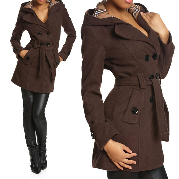 damen winter trenchcoat images. Black Bedroom Furniture Sets. Home Design Ideas